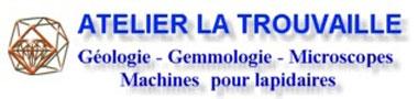 Matériel de géologie et d'outils pour géologue.