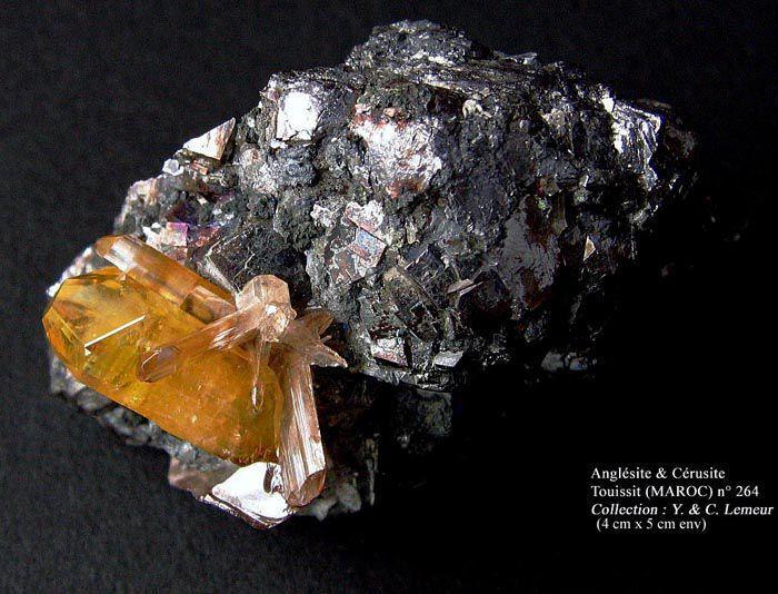 Les minéraux d'Yvan en photos