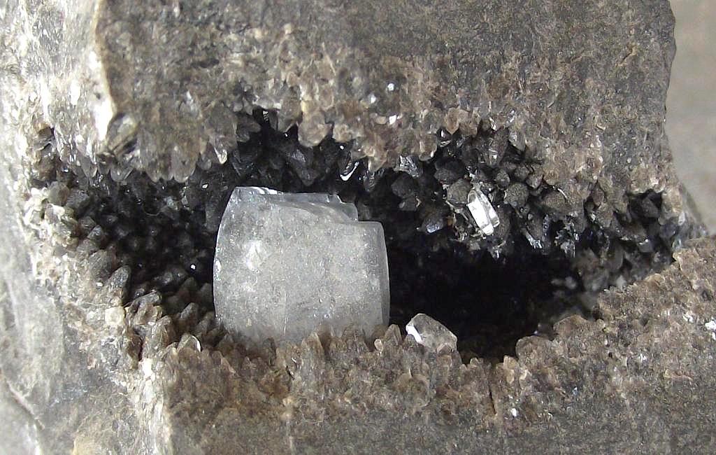 Célestine et Calcite