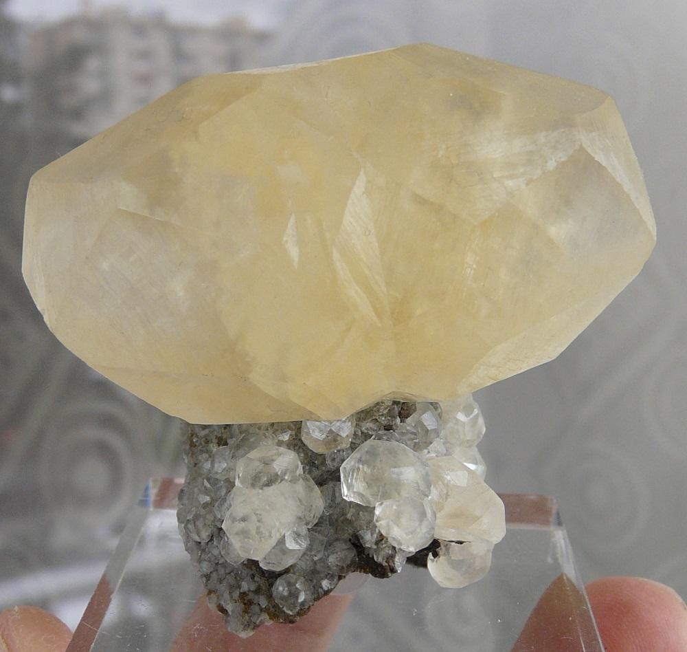 Calcite, mine de Trèves, Cévennes, Gard, Languedoc Roussillon, France.