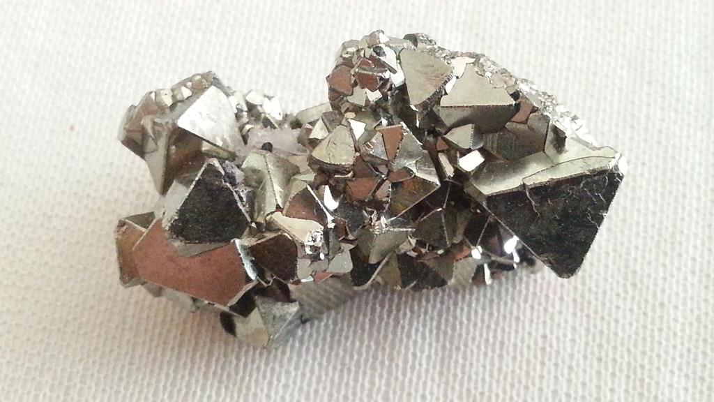 Pyrite octaédrique Perou
