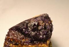 Octaèdre de fluorite (La Barre 63)