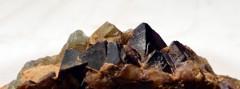 Petits octaèdres de fluorite (La Barre 63)