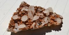 Calcite sur quartz