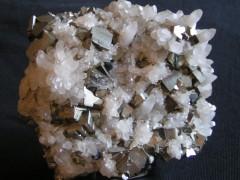 Pyrite et Quartz Pérou.JPG