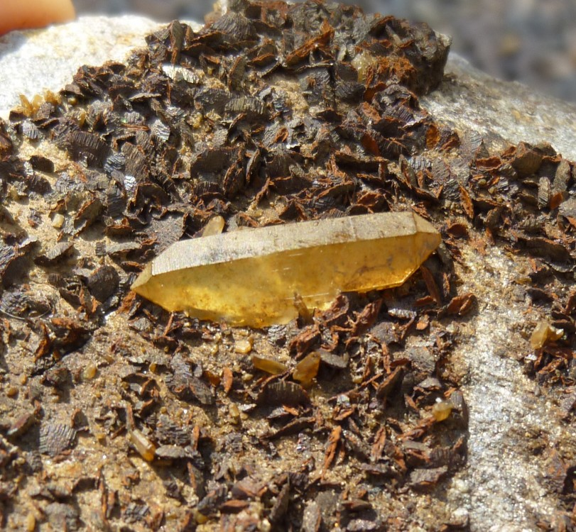 quartz et sidérite niveau 0.jpg