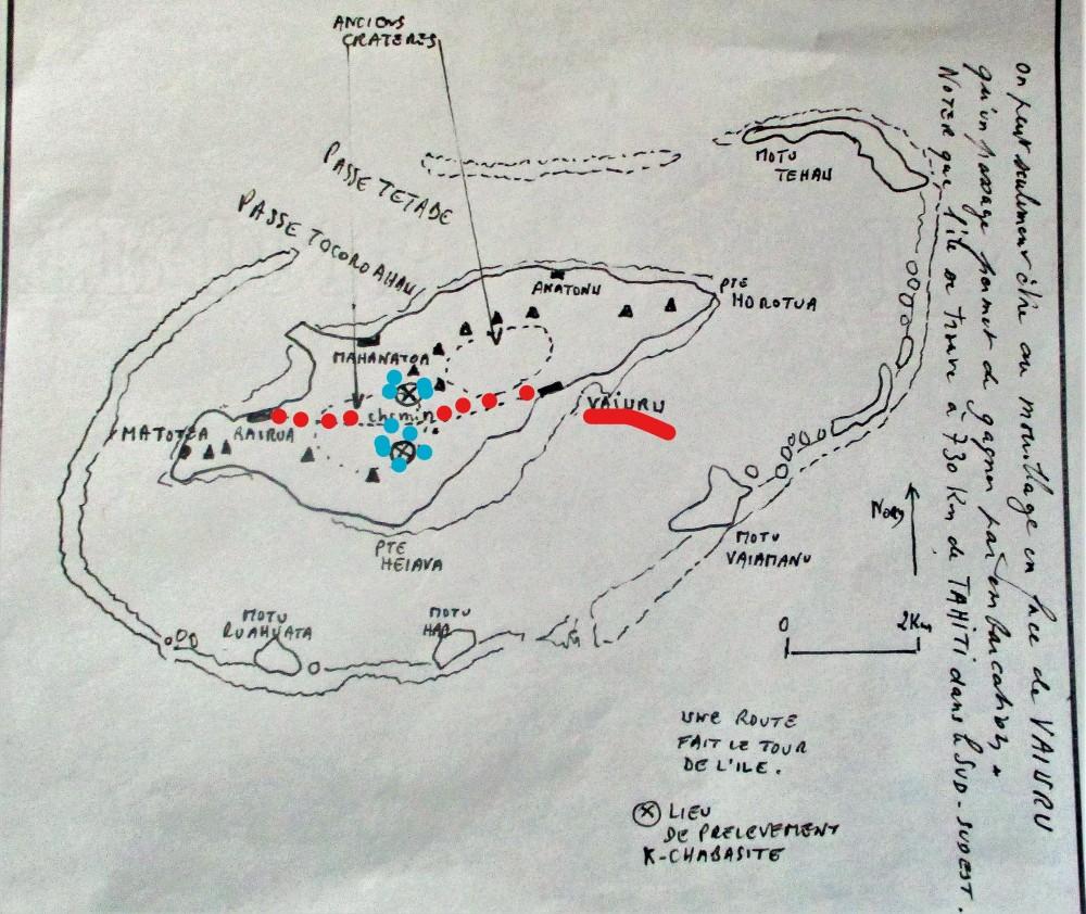 3 - carte raivavae  - itinéraire 1985.jpg