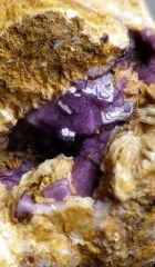 Fluorine sur baryte secteur Neris les Bains