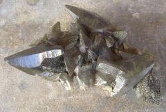 Calcite et Pyrite