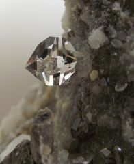 Quartz Diamant avec inclusion de liquide