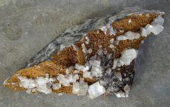 Calcite sur Ankérite