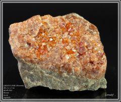 Hessonite, Bessans, Savoie